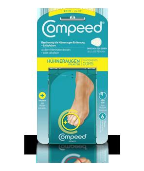 Compeed<sup>®</sup> Hühneraugenpflaster Aktiv Medium zwischen den Zehen