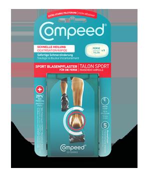 Compeed<sup>®</sup> Sport Blasenpflaster für die Ferse